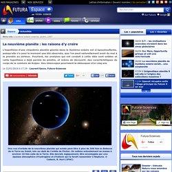 La neuvième planète : les raisons d'y croire