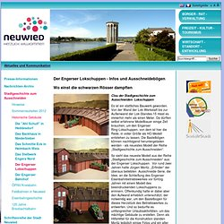 Stadt Neuwied: Der Engerser Lokschuppen