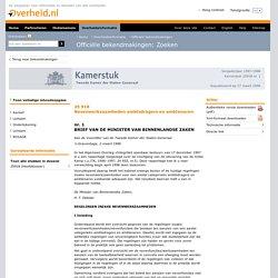 Nevenwerkzaamheden ambtsdragers en ambtenaren; Brief minister met een overzicht van regelingen inzake nevenwerkzaamheden en nevenfuncties t.a.v. ambtsdragers en ambtenaren
