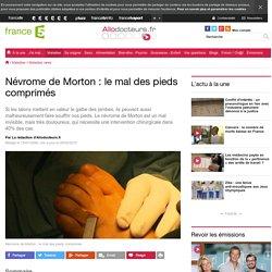 Névrome de Morton : le mal des pieds comprimés