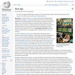 New Age - Wikipedia