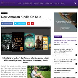 New Amazon Kindle On Sale