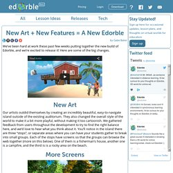 New Art + New Features = A New Edorble