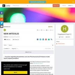 NEW ARTICKLES