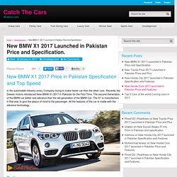 New BMW X1 2017