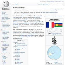 New Caledonia - Wikipedia