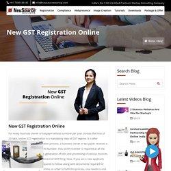 New GST Registration Online