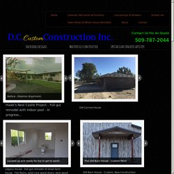 New Homes & Whole House Remodels