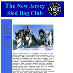 New Jersey Sled Dog Club
