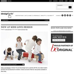 New at Kids Love Design
