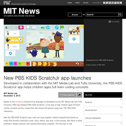 New PBS KIDS ScratchJr app launches