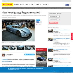 New Koenigsegg Regera revealed