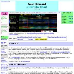 New Liskeard Clear Sky Chart