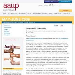 New-Media Literacies