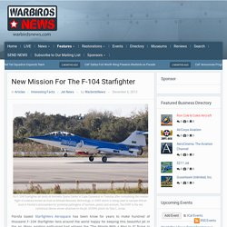 New Mission For The F-104 Starfighter