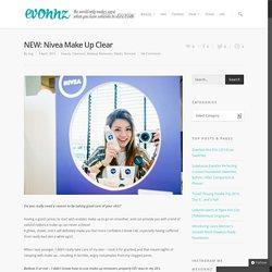 NEW: Nivea Make Up Clear