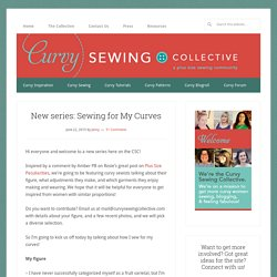 New series: Sewing for My Curves