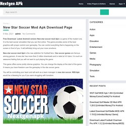 New Star Soccer Mod Apk Download Page