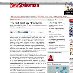 The first great age of the book