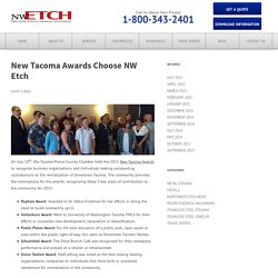 New Tacoma Award Chooses NW Etch