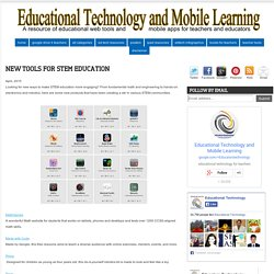 New Tools for STEM Education