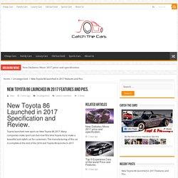 New Toyota 86 2017