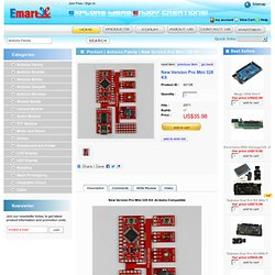 Arduino New Version Pro Mini 328 Kit - emartee.com