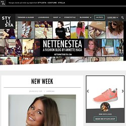 New week « Nette Nestea