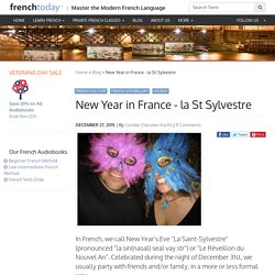 New Year in France - la St Sylvestre