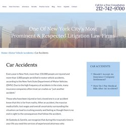New York Car Accident Attorneys - Godosky & Gentile PC