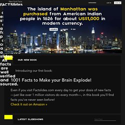 New York Facts: 10 Facts about New York you didn't know