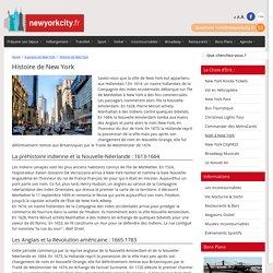 New York: toute l'histoire de New York City