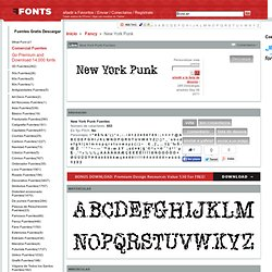 New York Punk Fuentes