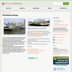 New York Sun Works: The Science Barge