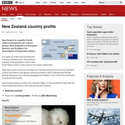 New Zealand country profile - Overview