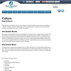 New Zealand Culture and Arts