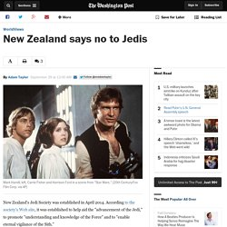 New Zealand says no to Jedis