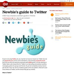 Newbie's guide to Twitter | Webware - CNET
