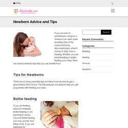 Newborn Advice and Tips - Newborn advice and tips