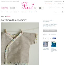 Newborn Kimono Shirt