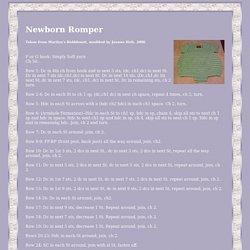 Newborn Romper