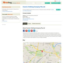 Cosmic Clothing Company Pty Ltd, Newcastle West NSW - maternity accessories