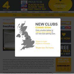 Gym Memberships in Newcastle from £9.99 pm.