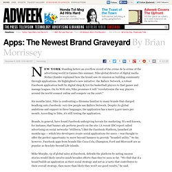 Apps: The Newest Brand Graveyard