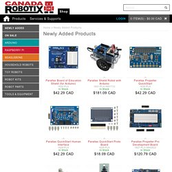 Newly Added Products in Canada Robotix