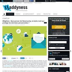 #BigData : Que penser de Newmanity, la boite mail qui protège les données personnelles
