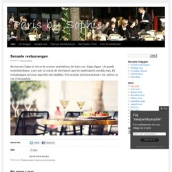 newparisbysophie | Just another WordPress.com site