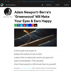 Adam Newport-Berra's 'Greenwood' Will Make Your Eyes & Ears Happy