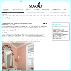 Sosolo Blog - Fashion style and trend news
