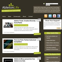 News | Ableton Life